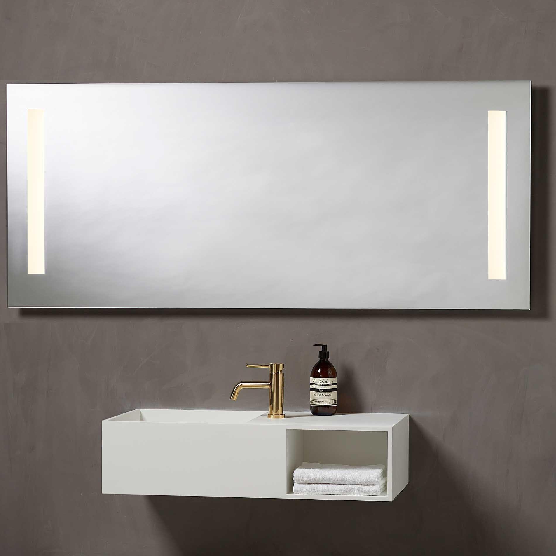 Speil med led lys 160 cm | Illuminor as