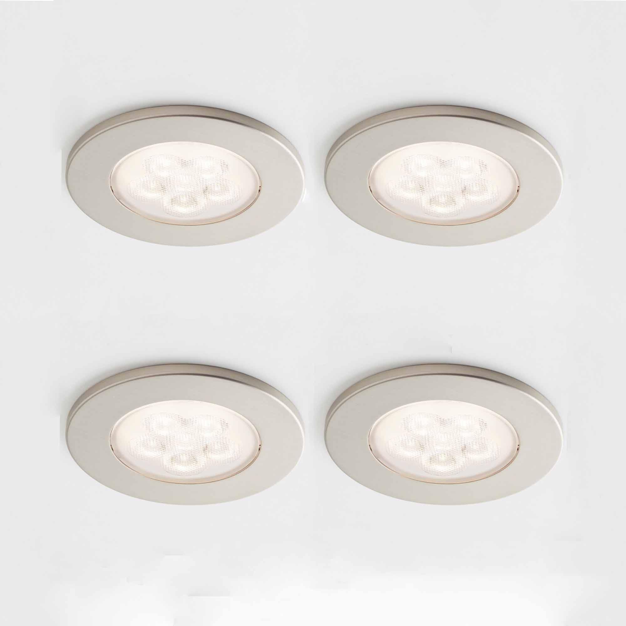 Pakketilbud med 4 stk LED Møbelspot og driver | Illuminor as