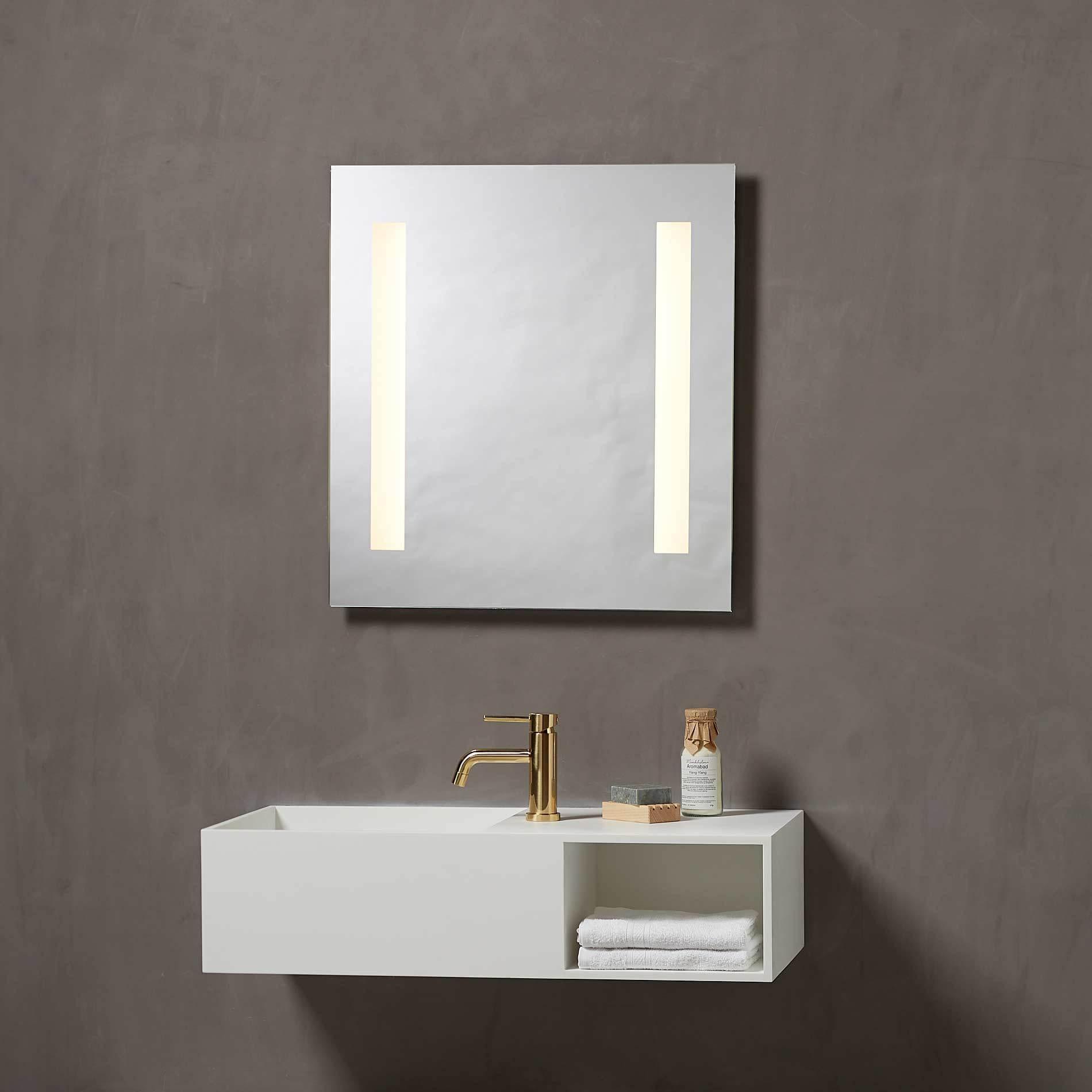 Speil med led lys 60 | Illuminor as