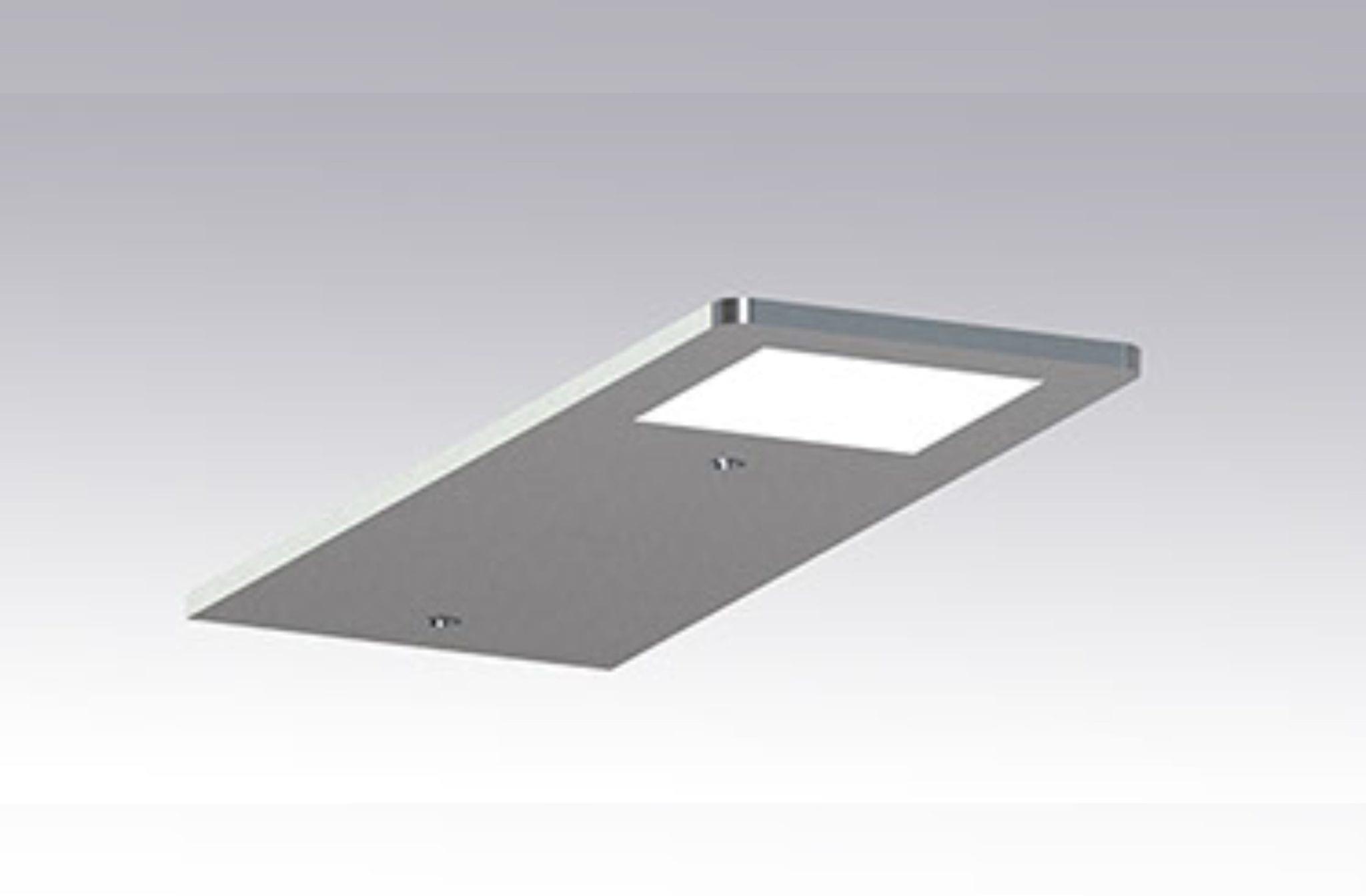2 stk Flat LED Light møbelspot og driver   Illuminor as