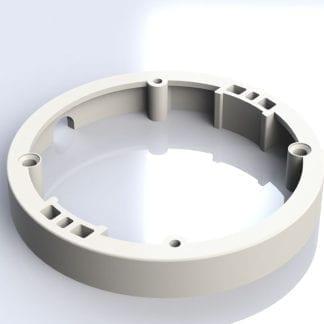 ID-LED Spot steel 2,3W 12V DC Møbelspot