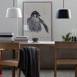 Noir pendel 300 Matt hvit | Illuminor as