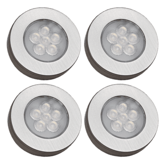 Møbelspot kit 4 lamper og trådløs bryterdim| Illuminor as