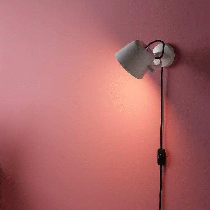 Noir vegglampe 132 Matt hvit | Illuminor as