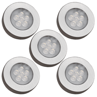 MultiWhite® Møbelspot kit 5 lamper trådløs | Illuminor as