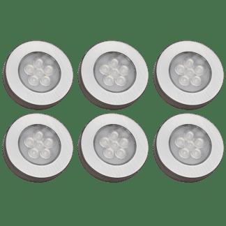 Møbelspot kit 6 lamper og trådløs bryterdim|| Illuminor as